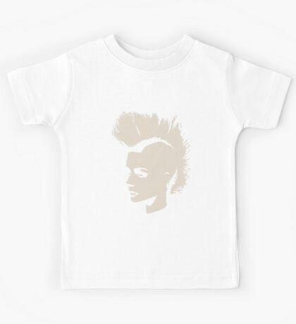 Punk Girl – unichrome print Kids Tee