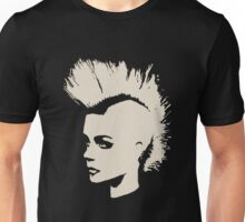 Punk Girl – unichrome print Unisex T-Shirt