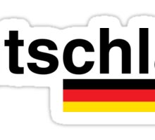 Deutschland Sticker