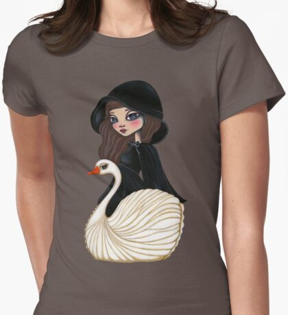 SwanSong Womens Fitted T-Shirt