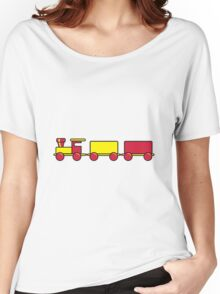 Toy train child Women's Relaxed Fit T-Shirt
