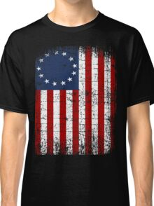 USA 13 Star 1776 Flag Classic T-Shirt