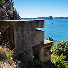 West head gun emplacements by Doug Cliff