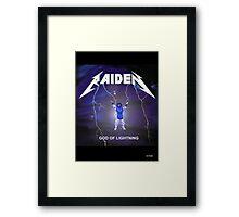 Raiden the lightning Framed Print