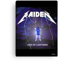 Raiden the lightning Canvas Print