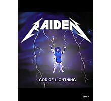Raiden the lightning Photographic Print