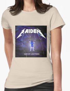 Raiden the lightning Womens Fitted T-Shirt