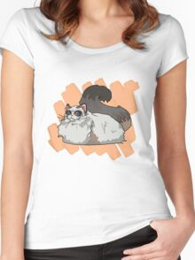 Ragdoll sees all Women's Fitted Scoop T-Shirt
