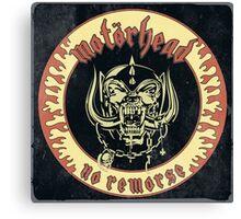 Motorhead (No Remorse) Vintage Canvas Print