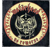Motorhead (No Remorse) Vintage Photographic Print