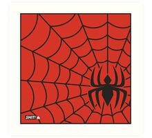 Spider Spiderman Art Print