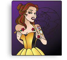 Disney Princesses with attitude - Belle Canvas Print