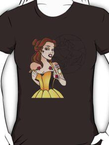 Disney Princesses with attitude - Belle T-Shirt