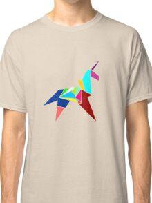 Unicorn Origami Classic T-Shirt