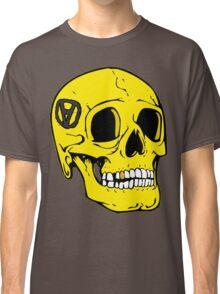 Libertarian Voluntaryism Skull Anarcho Classic T-Shirt