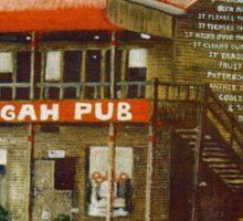 Ettamogah Pub Australia Sticker