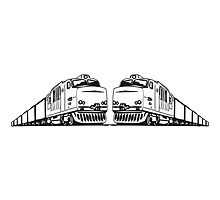 Freight train railway by Motiv-Lady