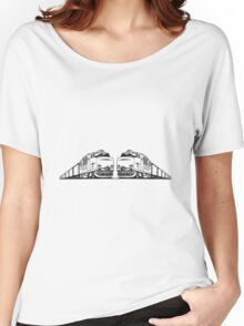 Freight train railway Women's Relaxed Fit T-Shirt
