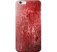 abstract red texture iPhone Case/Skin