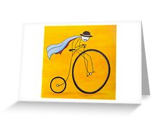 Bicycle Thief Greeting Card