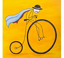 Bicycle Thief Photographic Print