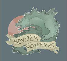Monster Boyfriend Photographic Print