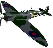 Spitfire Mk I by AREM