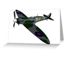 Spitfire Mk I Greeting Card