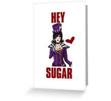 Hey Sugar Greeting Card
