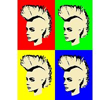 Punk Girl - Pop Art / Vers. I Photographic Print