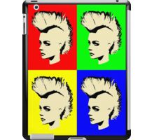 Punk Girl - Pop Art / Vers. I iPad Case/Skin