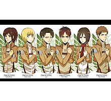 Attack on Titan 21 Photographic Print