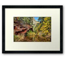 Oak Creek Canyon in Sedona Framed Print