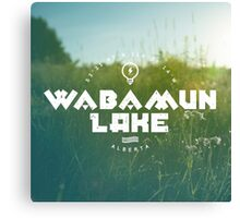 Wabamun Lake, Alberta Canvas Print