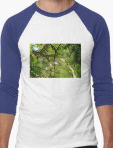 Spring Bluebird Men's Baseball ¾ T-Shirt