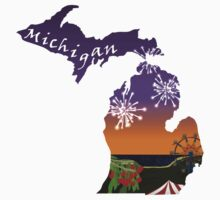 Michigan: Cherry Festival One Piece - Long Sleeve