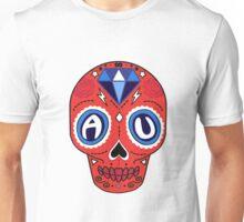 American University Sugar Skull Unisex T-Shirt
