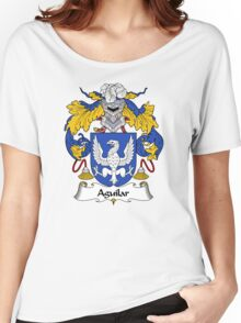 Aguilar Coat of Arms/Family Crest Women's Relaxed Fit T-Shirt
