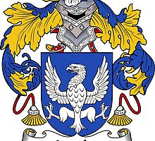 Aguilar Coat of Arms/Family Crest by William Martin