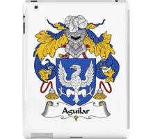 Aguilar Coat of Arms/Family Crest iPad Case/Skin