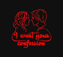 Vampire - I Want Your Confession Unisex T-Shirt