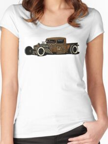 Rat rod Style Women's Fitted Scoop T-Shirt