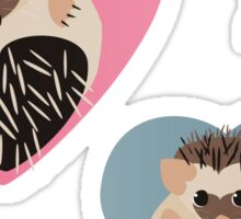 Hedgehog's in Love  Sticker