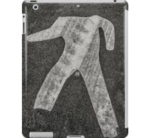 man crossing iPad Case/Skin