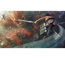 Attack on Titan 27 Photographic Print
