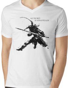 Lucatiel of Mirrah Mens V-Neck T-Shirt