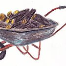 Wheelbarrow by Laura Sykes