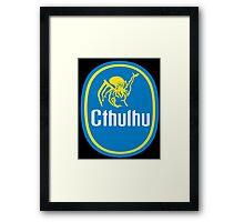 Cthulhu gone Bananas! Framed Print
