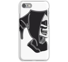 Death hooded sunglasses iPhone Case/Skin