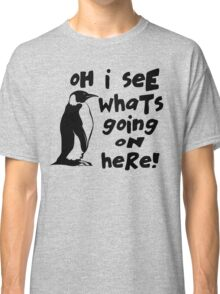 Billy Madison Quote - Oh I See What's Going On Here Classic T-Shirt